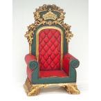 王の椅子(等身大フィギュア)