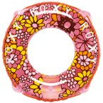 ショッピングロキシー うきわ 浮き輪 子供用 浮輪 大人気ブランド ROXY ロキシー 55cm ウキワ ロープ付き 対象年齢3歳以上