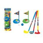 きかんしゃトーマス  ハッピーゴルフセット ドライバー、アイアン、パター、カップ、ボール付き 機関車トーマス パーシー おもちゃ 知育玩具