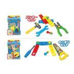 なりきり大工さん ネジやクギ&工具がいっぱい 大工道具 大工さんごっこ遊び おもちゃ 知育玩具