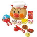 アンパンマン おもちゃ 玩具 アンパンマンにい〜っぱい!ままごとトントンセット おままごと ごっこ遊び おもちゃのお顔ケース付き 知育玩具