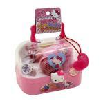 キティちゃん おもちゃ マイおしゃれケースセット ごっこ遊び おままごと ままごと遊び おしゃれセット かわいいバッグ型のケース入り サンリオ 知育玩具