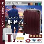 スーツケース 大型 L  無料受諾手荷物サイズ軽量 TSA アルミフレーム ハードケース キャリーバッグ 1年間保証 ハンガー DL2100-1