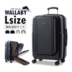 スーツケース Lサイズ 無料受託サイズ 大型 軽量 約94L フロントオープン 人気 1年間保証 ファスナータイプ  ハードケース ビジネス