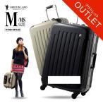 ショッピングoutlet 【OUTLET】スーツケース 人気 グリフィンランド 軽量 アルミフレーム ハード 日乃本錠前 グリスパック スーツケース M キャリーケース TSA