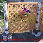 擬木(ギ木)白樺かんたんフェンス 1スパンセット