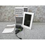 デジタルフォトフレーム 6インチ SLIM DP15-60-WH■H-309