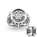 ナイトアンドデイカレッジ シルバーリング 指輪 DEAL DESIGN ディールデザイン
