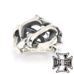 メーカー取り寄せ品 レイジングチェーンリング シルバーリング 指輪 DEAL DESIGN ディールデザイン