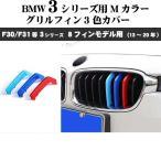 BMW用 グリルフィン 3色カバー 3シリーズ 8フィンモデル向け