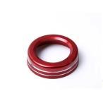 メルセデスベンツ Aクラス GLA CLA B C E GLK用 オーディオ音量ダイアル リング 赤 内装ドレスアップパーツ Mercedes Benz用 ネコポス可