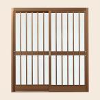 ショッピング玄関 玄関引戸(引き戸) 菩提樹 2枚建戸ランマ無 普通枠 212型(五本格子) 6160 W1692×H1847 LIXIL/リクシル トステム ドア 戸 アルミサッシ