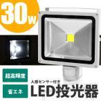 LED投光器 30W 人感センサー