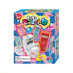 Yahoo!ドリームヤフー店【新商品】大人気ジョーク玩具菓子 もこもこモコレット6 8個入りBOX(食玩・粉末清涼飲料)ハート
