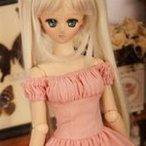 ≡Helleborus≡ OUTFIT: Dress Lingerie(Pink) 60cm DDY【アウトレット50%OFF】