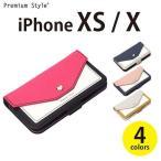 iPhone XS iPhone X アイフォン アイフォーン 用 手帳型 ケース カバー フリップカバー スクエア型ポケット 4カラー PGA PG-18XFP****