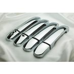 日産 ティーダ C11 クローム メッキ ドア ハンドル カバー (インテリジェンスキー対応)