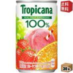 送料無料 キリン トロピカーナフルーツブレンド 160g缶(ミニ缶) 30本入 [100%ジュース]
