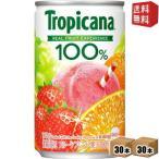 送料無料 キリン トロピカーナフルーツブレンド 160g缶(ミニ缶) 60本(30本×2ケース) [100%ジュース]