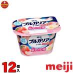 明治 ブルガリアヨーグルト 脂肪0 清み白桃 180g×12個(クール便)
