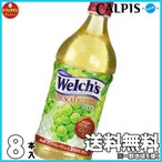 ALPIS 「Welch's」マスカットブレンド100 800g×8本 【梱包A】