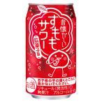 合同 昔懐かしいすももサワー 【駄菓子屋の味】 350ml缶 2ケース48本
