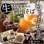 生そば 2食 セット つゆ付き 麺180g つゆ2P 送料無料 【2〜3営業日以内に出荷】