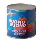 トマトコーポレーション)ホールトマト 1号缶(2550g)【チューボー用品館】