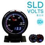 デポレーシング 60mm 【SLD 電圧計】 アンバー/ホワイト・デジタル/アナログ Deporacing