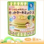 赤ちゃんのやさしいホットケーキミックス ほうれん草と小松菜 100g [9か月頃から](和光堂)(4987244183880)