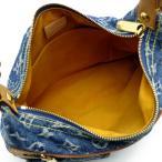 ルイ・ヴィトン バギーGM  M95049(廃盤) ショルダーバッグ モノグラムデニム LOUIS VUITTON  LV ブルー レディース 中古 (銀座店)/DH54492