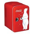 コカコーラデザインミニ冷蔵庫 KWC-4 Coca-Cola Personal 6-Can【並行輸入品】