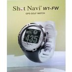 ショットナビ(Shot Navi) ゴルフナビ GPS 腕時計型 ホワイトSN-W1-FW