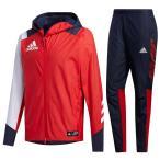 adidas(アディダス)5T ウインドジャケット パンツ 上下セット(INT64/INT58)野球 ソフトボール トレーニング ウインドブレーカー