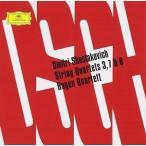 ショスタコーヴィチ:弦楽四重奏曲第3番,第7番,第8番(CD)