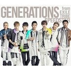 GENERATIONS from EXILE TRIBE/SPEEDSTER(通常盤/CD+2DVD+スマプラ)(CD)