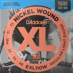 D'Addario EXL110W Nickel Wound 3弦ワウンド 010-046 ダダリオ エレキギター弦