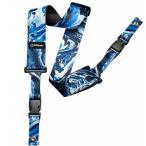 ショッピングストラップ DiMarzio Steve Vai ClipLock Art Strap Blue Universe DD2240 ディマジオ クリップロック ストラップ
