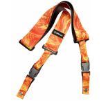 ショッピングストラップ DiMarzio Steve Vai ClipLock Art Strap Orange Universe DD2245 ディマジオ クリップロック ストラップ