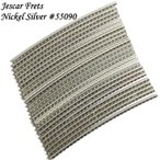 Jescar ジェスカー ニッケルシルバー フレットワイヤー 24本セット 2.28mm x 1.40mm #55090 NS18%