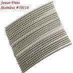 Jescar ジェスカー ステンレス フレットワイヤー 24本セット 3.00mm x 1.47mm #58118 Stainless