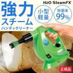 h2o スチームクリーナー スチームモップ ハンディスチーマー ドライスチーム 掃除 汚れ 洗浄 軽量 「H2OスチームFX 8点デラックスセット」