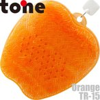 ゆうパケットのみ送料無料 トーン tone フットブラシ オレンジ TR-15OE