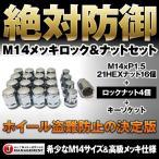 送料無料 M14xP1.5 高級クローム メッキロックナット20個セット ランクル100/200 レクサスLS460/600h 輸入車等