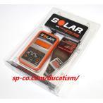"""(1年保証付き)""""New""""SOLAR BA5 12V用 バッテリー CCAテスター (日本語説明書付属) 高精度デジタル"""