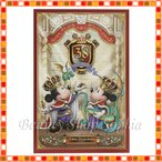 ミッキー&ミニー ポストカード 38周年 アニバーサリー キングダムトレジャー ファンタジーランド ディズニー グッズ お土産(東京ディズニーランド限定)
