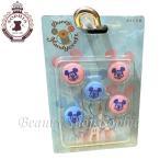 ミッキーマウス ボタンセット(ブルー&ピンク) Disney Handycraft 2021 ハンドメイド レトロ ディズニー グッズ お土産(東京ディズニーリゾート限定)