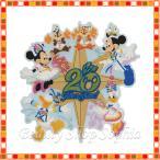 ミッキー&フレンズ マグネット 20周年 アニバーサリー タイム・トゥ・シャイン! ディズニー グッズ お土産(東京ディズニーシー限定)