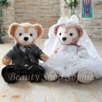 ダッフィー シェリーメイ ウェディングドレス タキシード(グレー)セット オリジナルウエディングコスチューム 結婚式