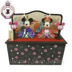 ミッキーマウス ミニーマウス ひな人形 2020 台付きひな飾り ひな祭り 雛飾り おひな様 桃の節句 ディズニー グッズ お土産(ディズニーリゾート限定)